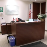 The Front Desk in the Aversan Mississauga Office.