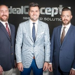Over 65 Team- Assistant Sales Manager Brian Andrew, President John Pequeno & Sales Manager Jon Price