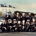 USS JFK CV67 Photo Lab Crew 1980