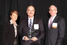 Our COO proudly accepts 2012 Companies As Responsive Employers award 2nd year in a row.