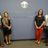 HealthTrust Workforce Solutions photo: Some of the internal promotions made in April 2017