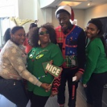 Integrity Staffing Solutions photo: Some of our Holiday Ugly Sweater Contestants, 2015.