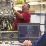Honeywell designs & manufactures aircraft engines for business & military aircraft at its plant.