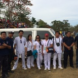 First Aid Nurse together with TARSIER BOHOL