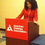 American Diabetes Association photo: Diabetes Disparities in the African American Community Speech