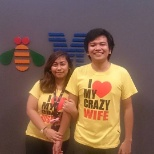 Me with my husband, we met at IBM!