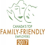 Shaw Communications photo: We are honoured to be named one of Canada's top Family-Friendly Employers