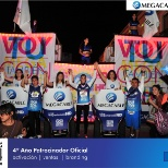 MEGACABLE photo: Equipo Megacable Carrera Nocturna Qro 2014