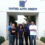 Team Members at Corporate enjoying jeans Friday!