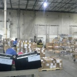 Tech Data photo: moving to new warehouse