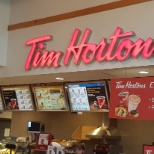 Tim Hortons photo: my first job