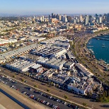 Harbor Drive campus with the city of San Diego in the background.