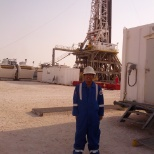 Nabors rig 860 rig camp