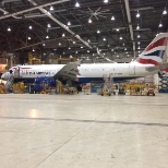 British Airways photo: Minor Maintenance