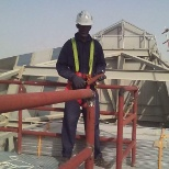 Fabrication and welding of Tower crane