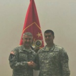 Meeting the Command Sergeant Major of the Army