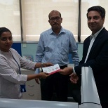 Max Bupa Health Insurance photo: Top Performer of the Quarter felicitation Ceremony.