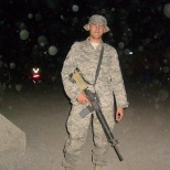 here I am on my first deployment to Kandahar Afghanistan