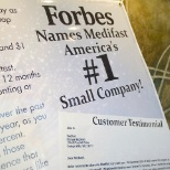 Forbes Names Medifast America's #1 Small Business