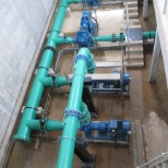ANDRITZ HYDRO photo: INSTALLATION OF AIR VALVES PIPES