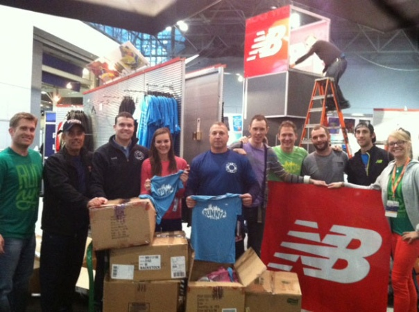 Running Team Donates Product to Hurricane Sandy Victims