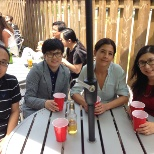 Employees get-together at Comwave Patio