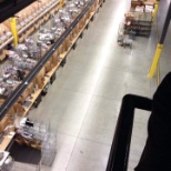 Above the packing line