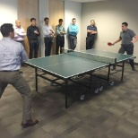 Ping pong tournament in Dallas!