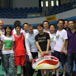 Irdeto photo: Company Badminton Tournament