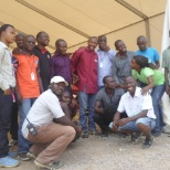 WFP Forward Logistics Base Staffs