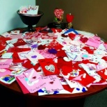 TeleTech photo: FlashbackFriday: Over 700 Valentine cards made by TeleTech employees for Senior Citizens of Sherwood
