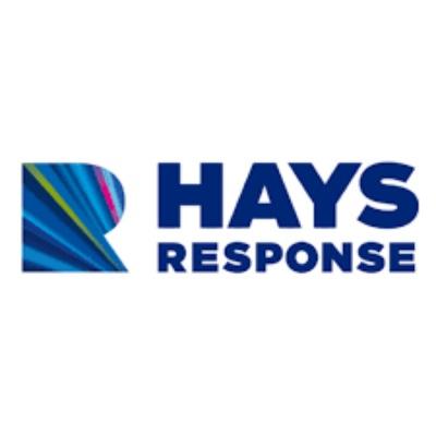 logotipo de la empresa Hays Response