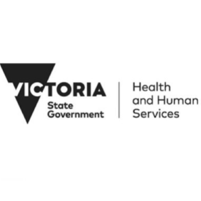 Victorian Government Department of Health and Human Services logo