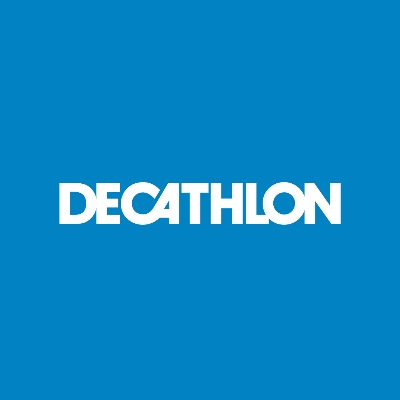 Logo van Decathlon