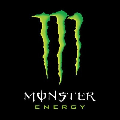 logotipo de la empresa Monster Energy