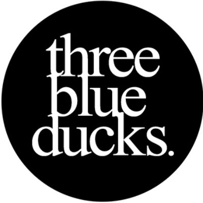 Three Blue Ducks logo