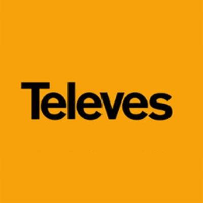 logotipo de la empresa Televés