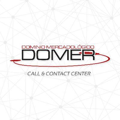 logotipo de la empresa Domer Call Center SC