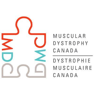 Logo Muscular Dystrophy Canada