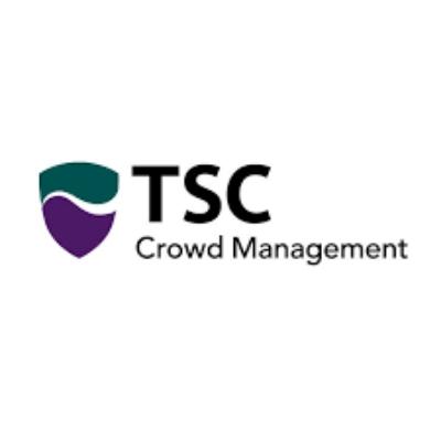 Logo van TSC Crowd Management