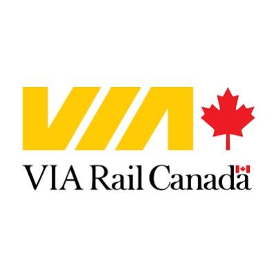 VIA Rail company logo