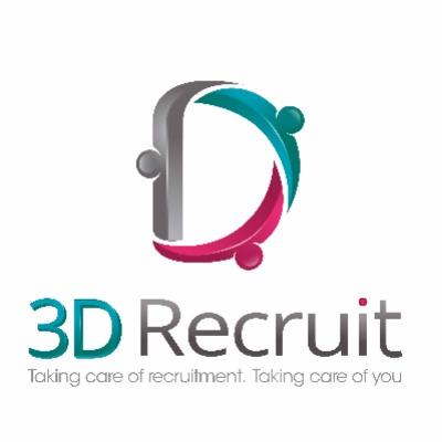 3D Recruit logo
