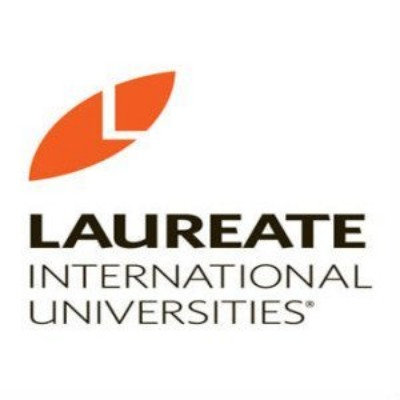 logotipo de la empresa Laureate International Universities