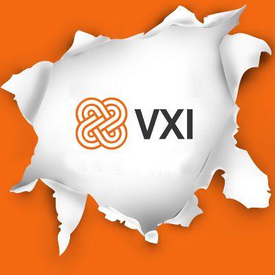 VXI Global Solutions logo