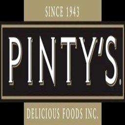 PINTY'S DELICIOUS FOODS company logo