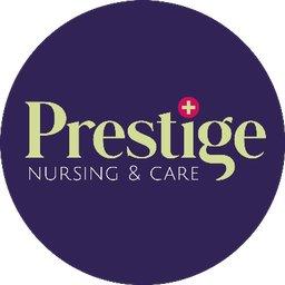 Prestige Nursing + Care logo