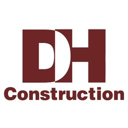 DH Construction logo