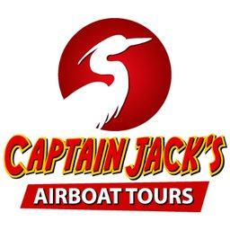 Captain Jack's Airboat Tours logo