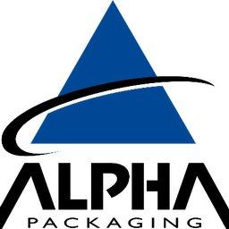 Alpha Packaging company logo