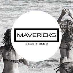 Mavericks Beach Club logo